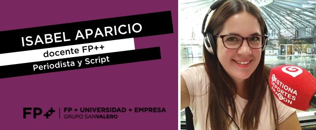 Isabel Aparicio FP++ Entrevista