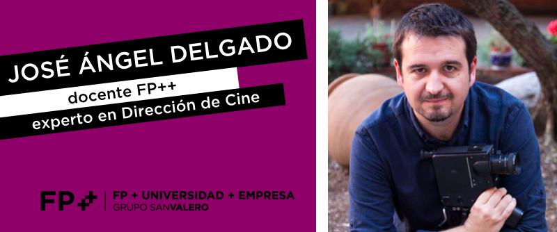 Jose Ángel, experto director de cine