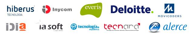 Empresas colaboradoras de informática