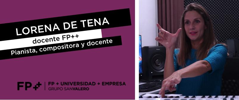 Lorena de Tena, docente de FP++