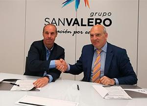 Noticia Clúster de Maquinaria Agrícola de Aragón y el Grupo San Valero